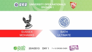 Uni Nationals 2013: Sussex v Bath (HD)