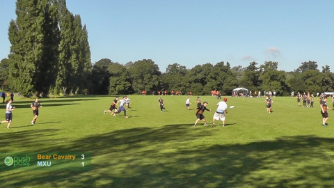 UKU Club Nationals 2012: Mixed Semi - Bear Cavalry v MXU