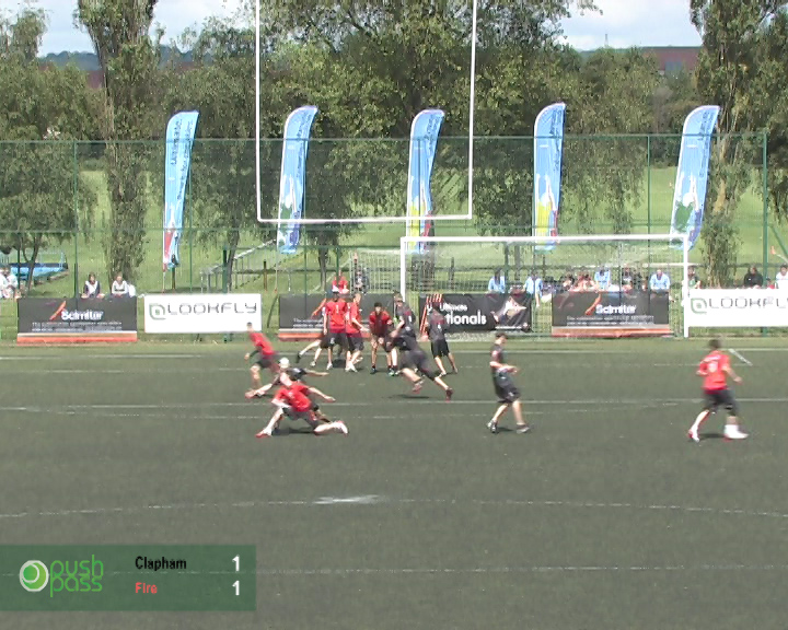 UKU Club Nationals 2012: Final - Clapham v Fire