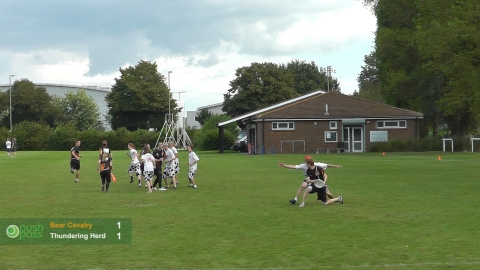 UKU Club Nationals 2012: Mixed Final - Thundering Herd v Bear Cavalry