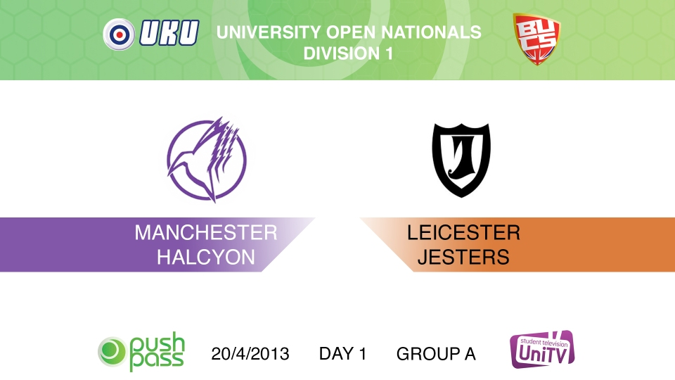 Uni Nationals 2013: Manchester v Leicester (HD)