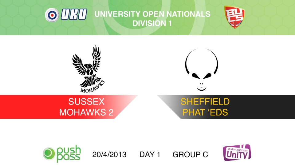 Uni Nationals 2013: Sussex 2 v Sheffield (HD)