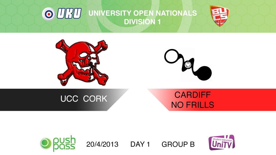 Uni Nationals 2013: Cork v Cardiff