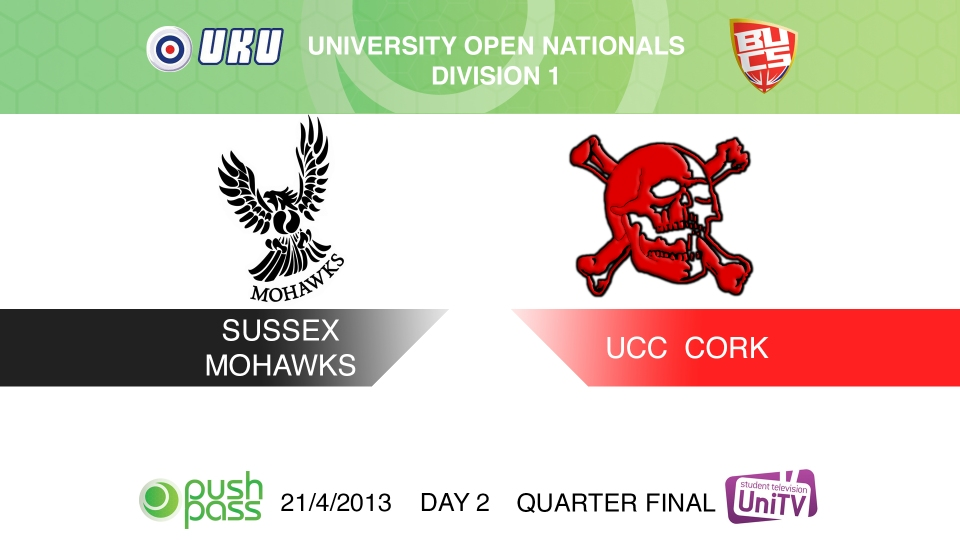 Uni Nationals 2013: Quarter Final - Sussex v Cork (HD)