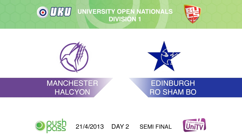 Uni Nationals 2013: Semi Final - Manchester v Edinburgh (HD)