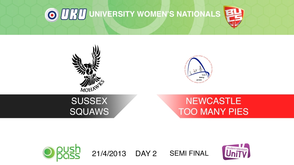 Uni Nationals 2013: Women's Semi - Sussex v Newcastle (HD)