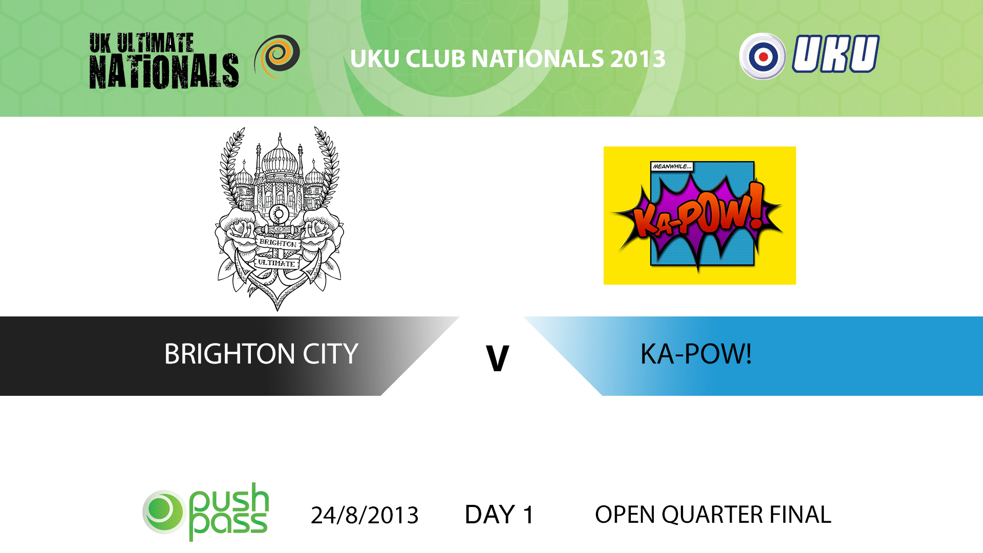 UKU Club Nationals 2013: Brighton City v Ka-Pow!