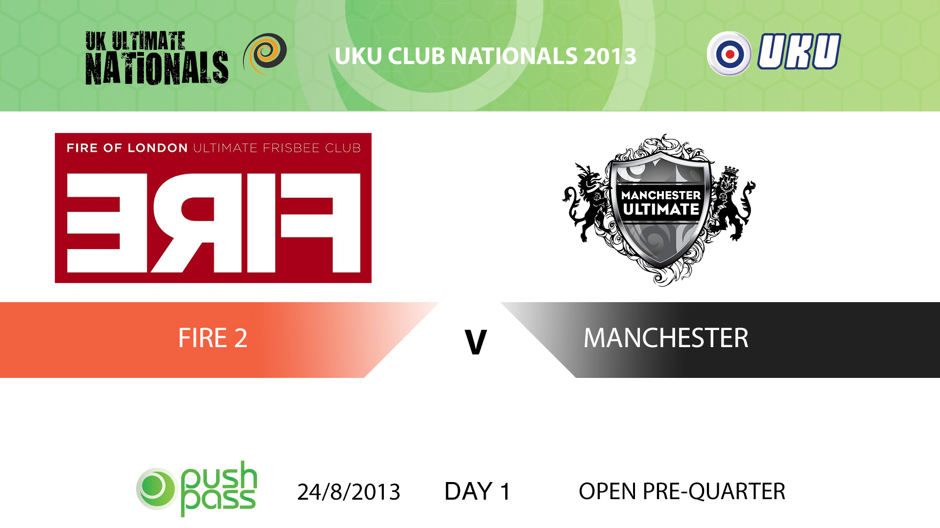 UKU Club Nationals 2013: Fire 2 v Manchester