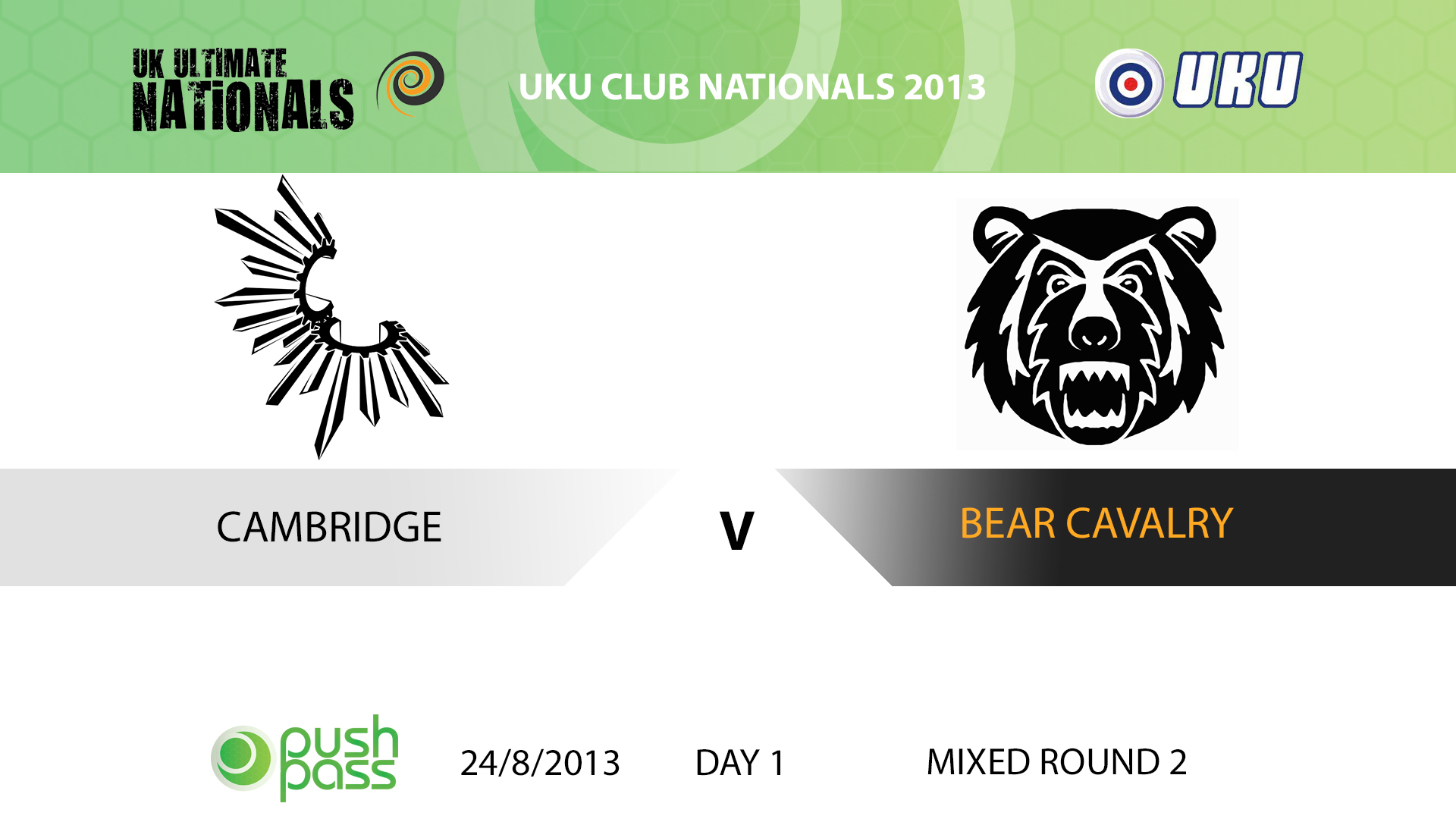 UKU Club Nationals 2013: Cambridge v Bear Cavalry (round 2)