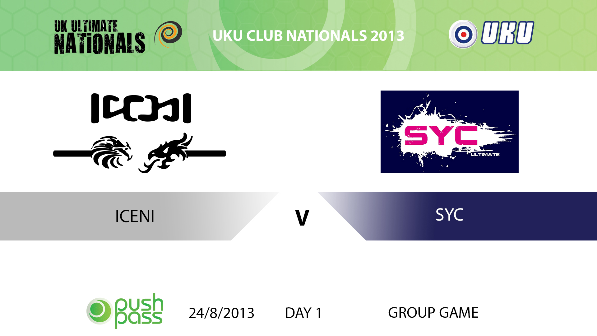 UKU Club Nationals 2013: Iceni v SYC