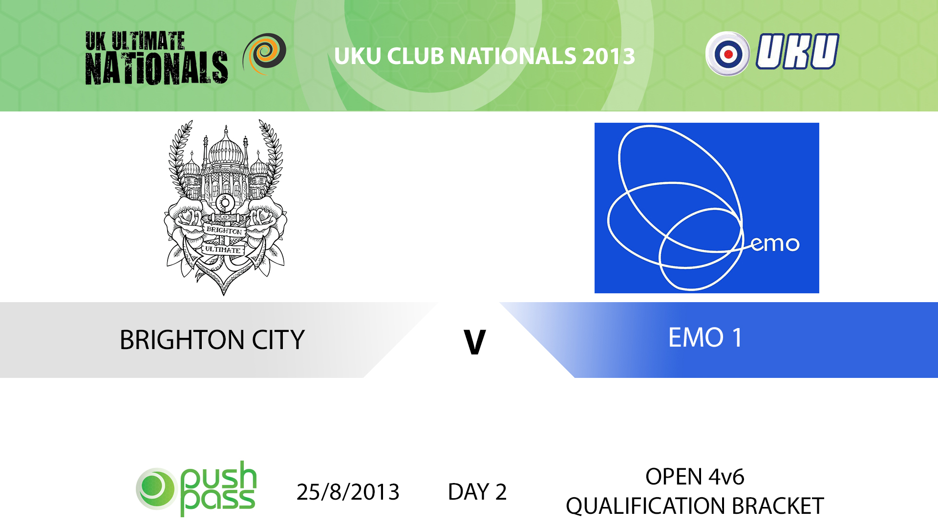 UKU Club Nationals 2013: Brighton City v EMO 1