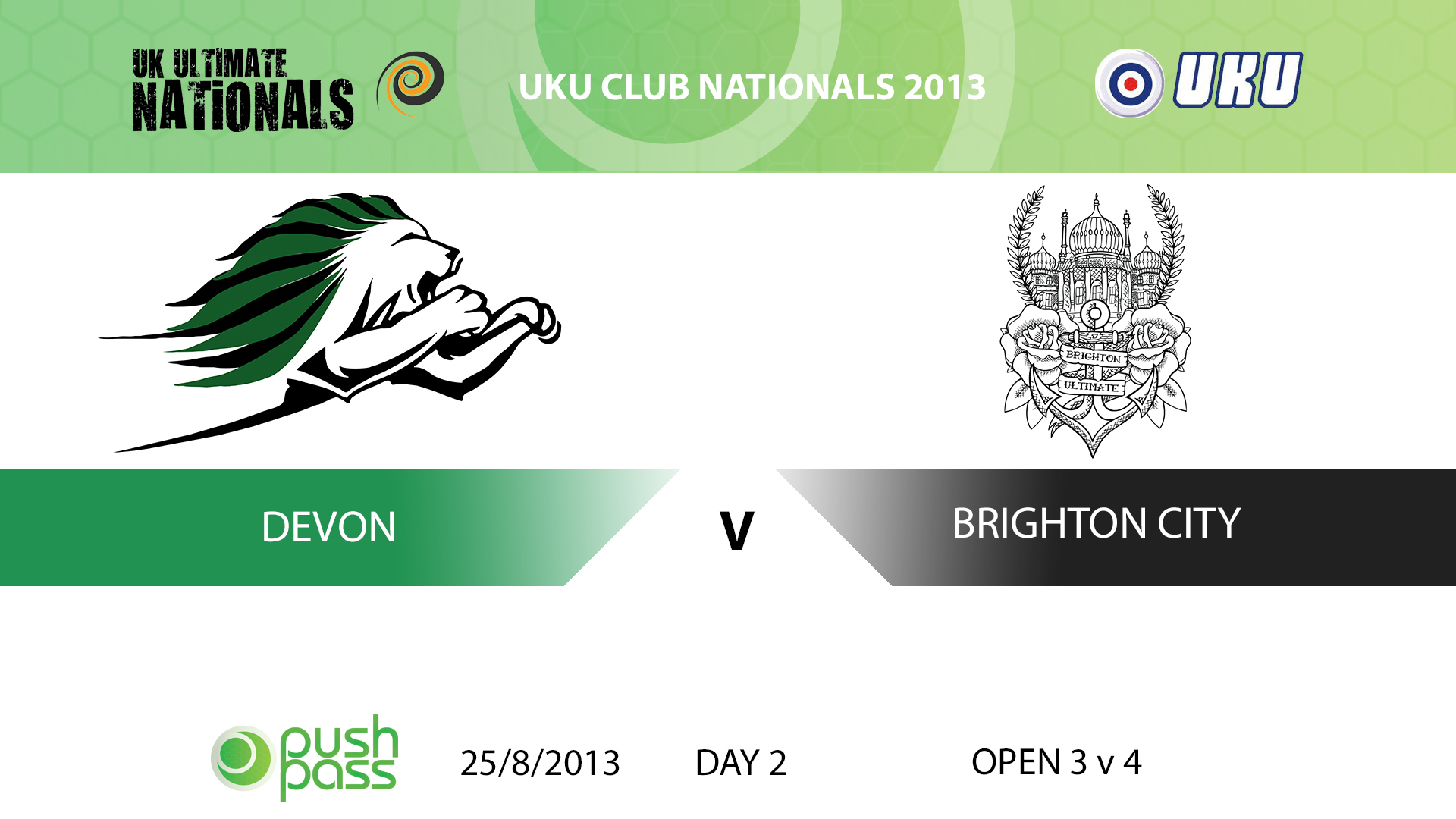 UKU Club Nationals 2013: Devon v Brighton City