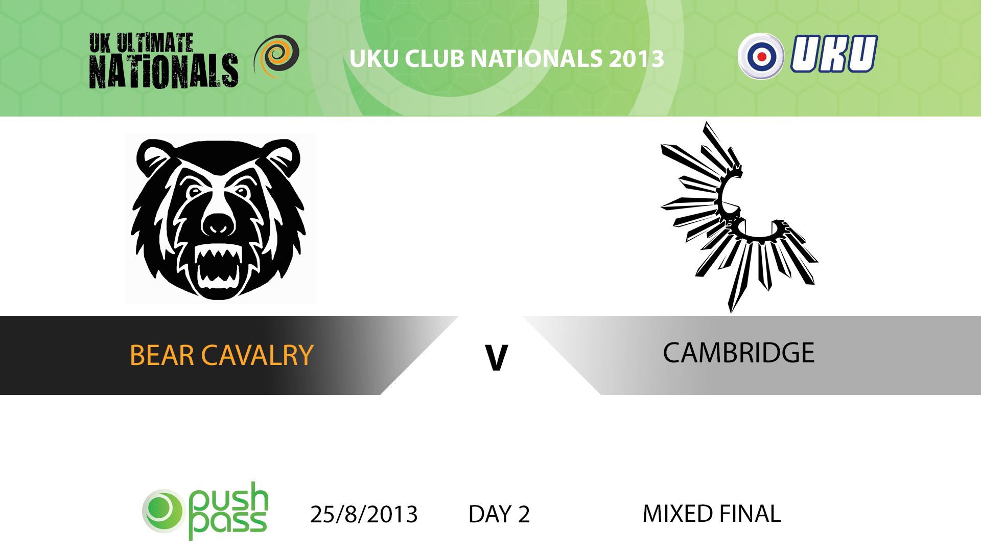 UKU Club Nationals 2013: Mixed Final - Bear Cavalry v Cambridge