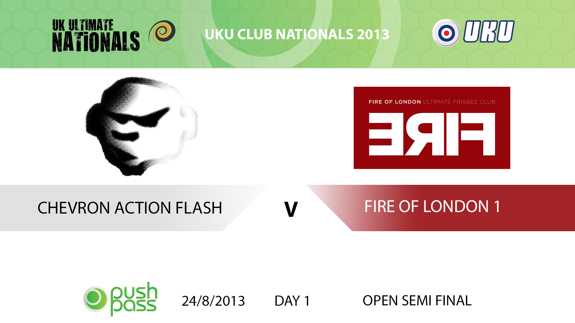 UKU Club Nationals 2013: Open Semi - Chevron v Fire 1