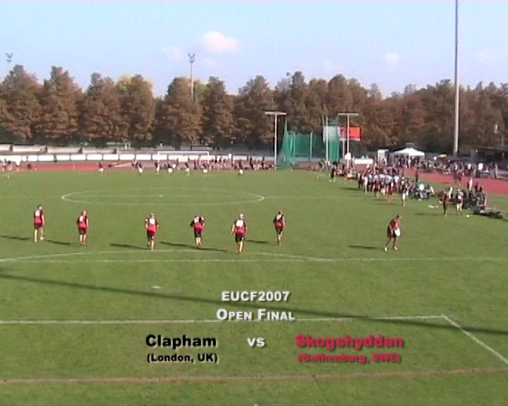EUCF 2007: Open Final - Skogshyddan v Clapham
