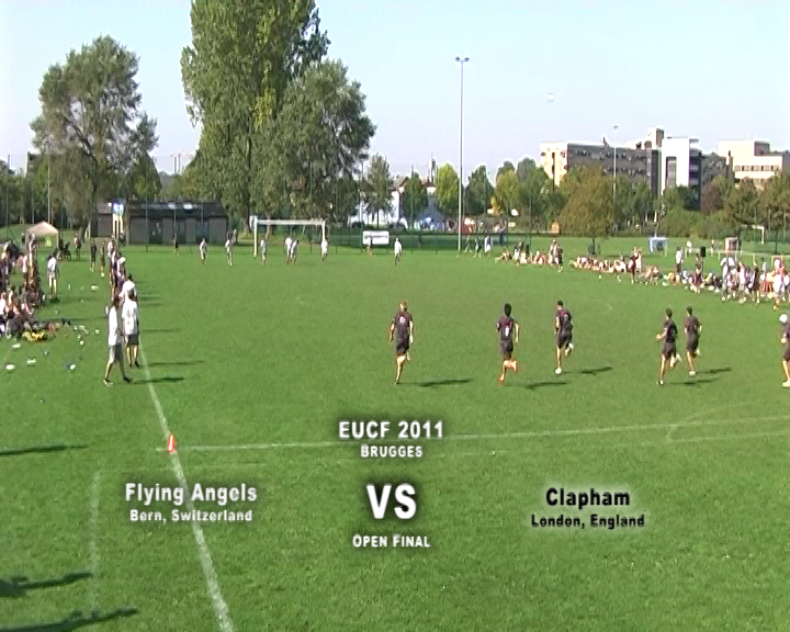 EUCF 2011: Open Final - Flying Angels v Clapham