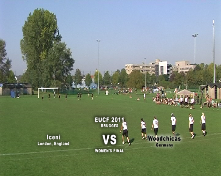 EUCF 2011: Women's Final - Iceni v Woodchicas