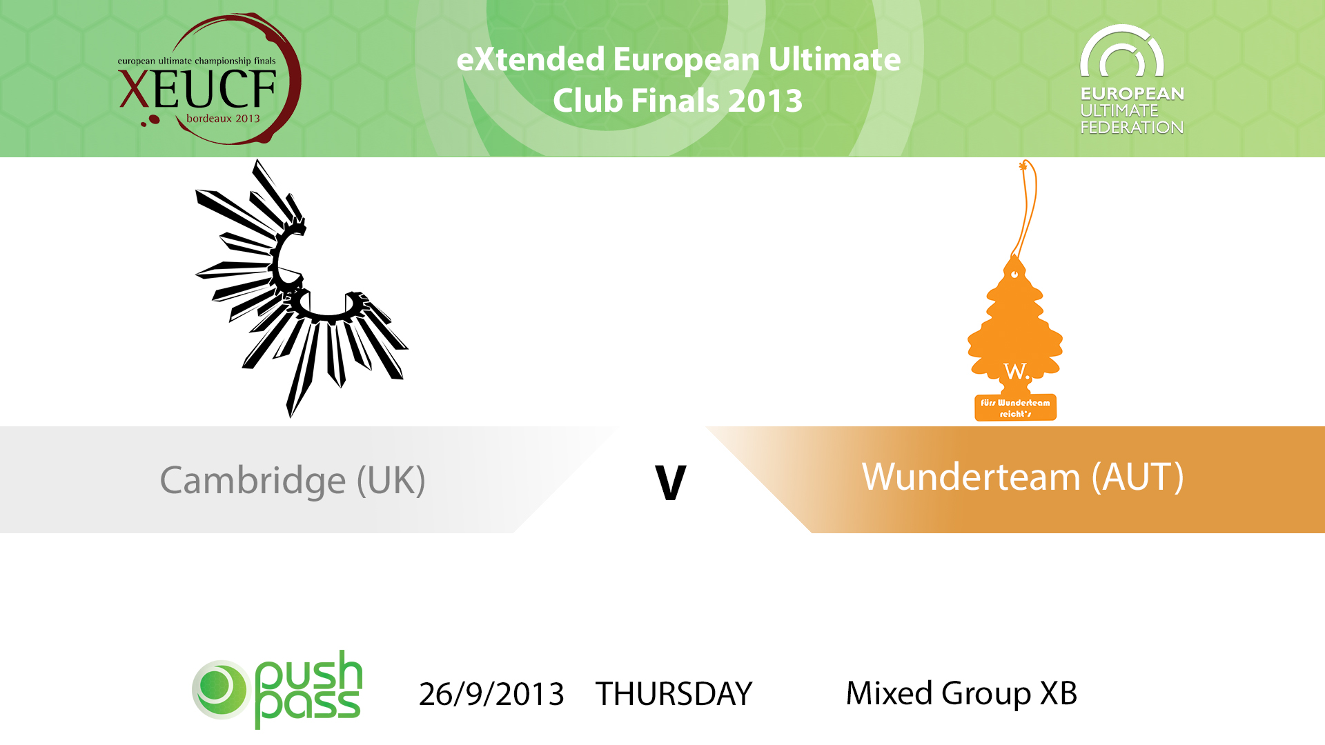 XEUCF 2013: Mixed - Cambridge v Wunderteam