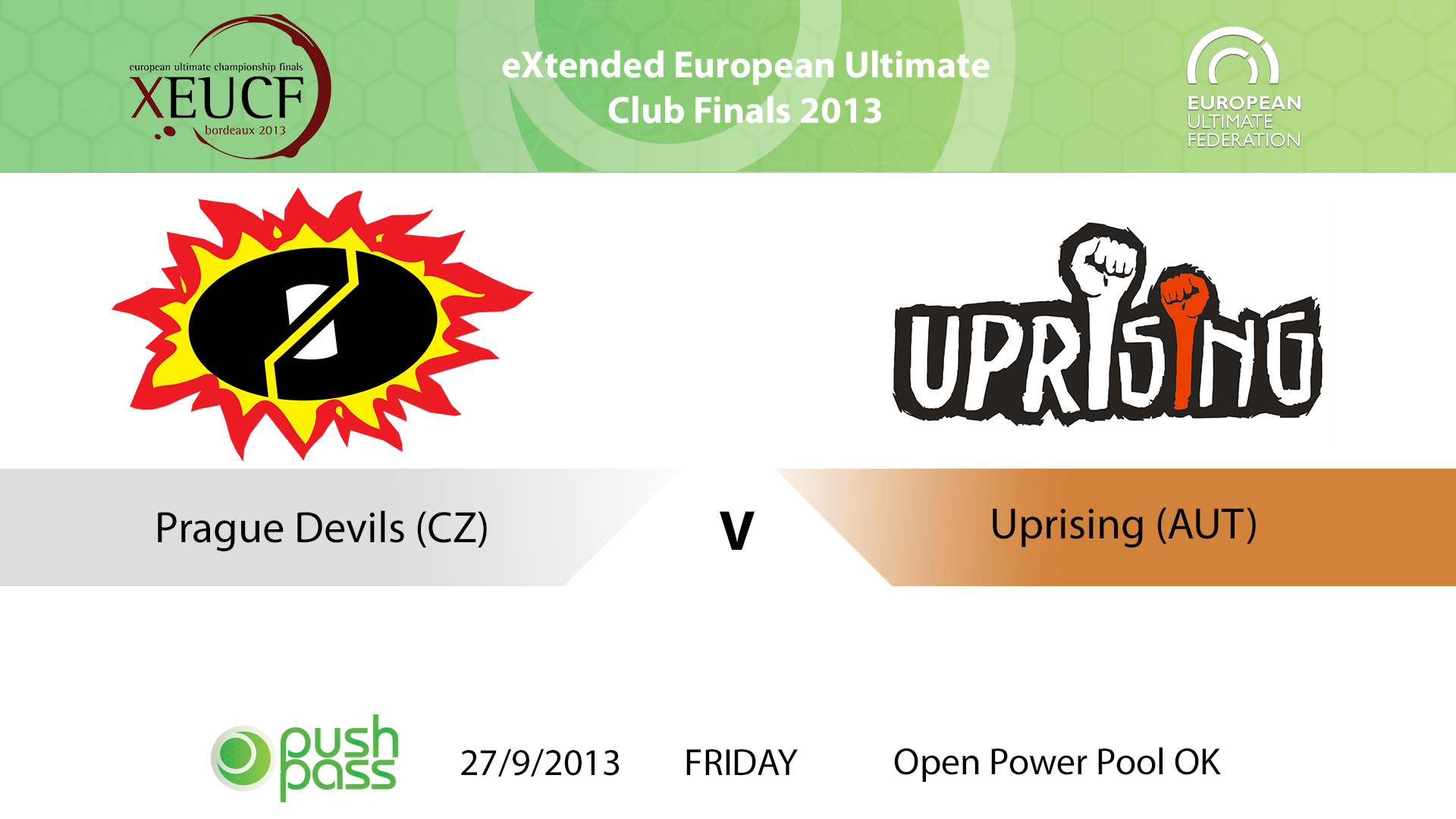 XEUCF 2013: Open - Prague Devils v Uprising