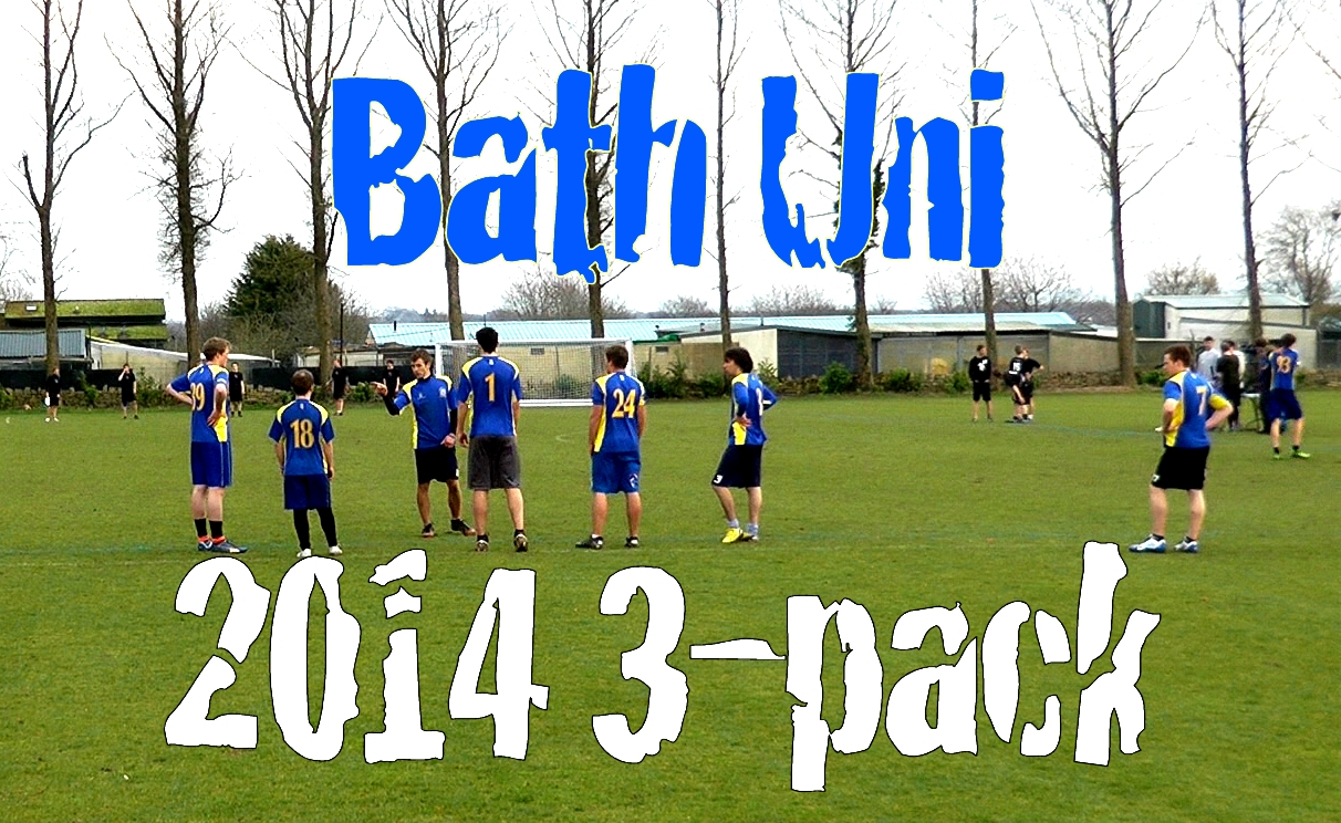 Bath Uni 2014 3-pack