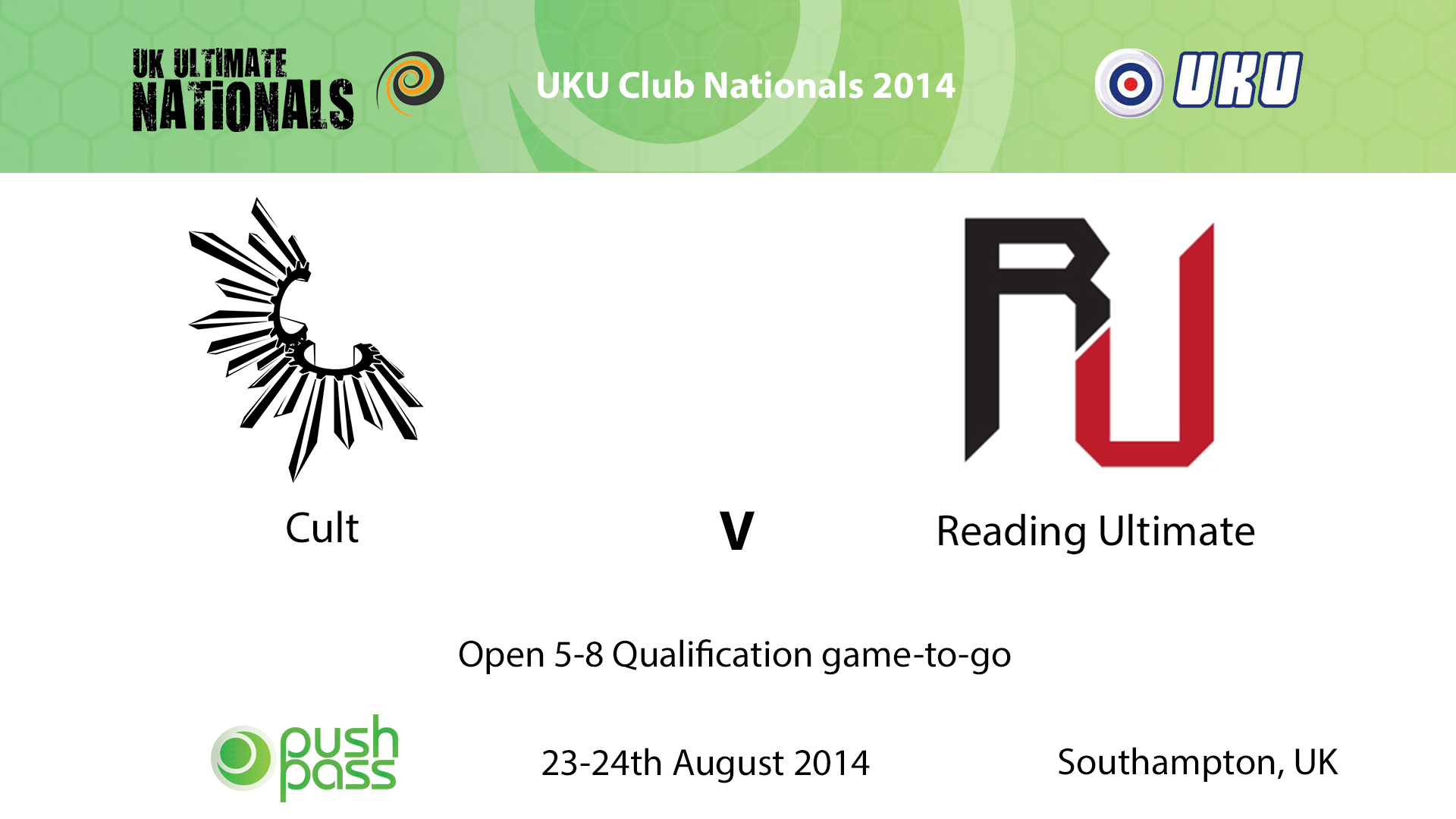 UKU Club Nationals 2014: Open 5-8 Qualification play-off - Cambridge v Reading