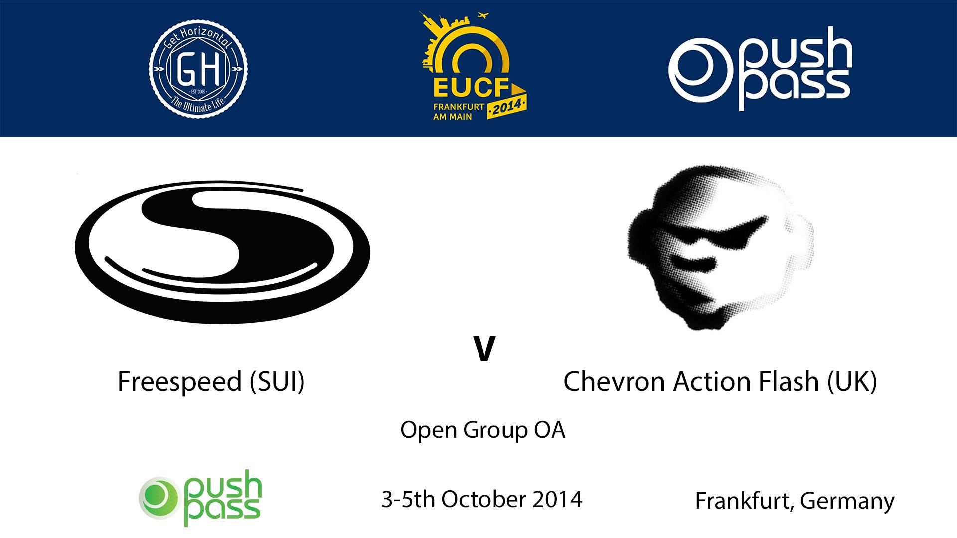 EUCF 2014: OA - Freespeed v Chevron