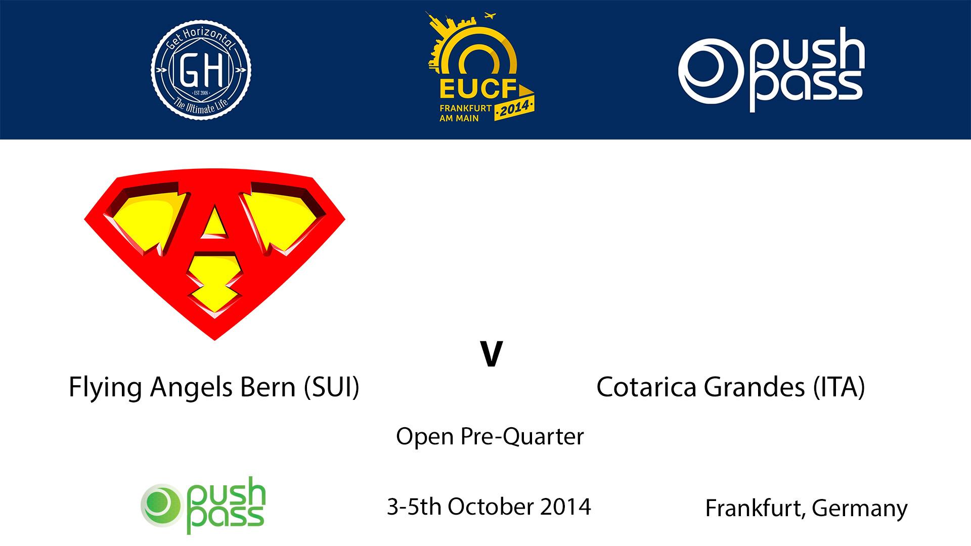 EUCF 2014: Open Pre-Quarter - FAB (5) v Cotarica Grandes (12)