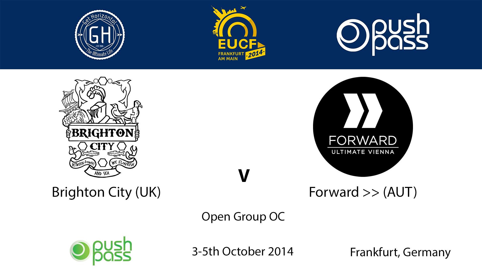 EUCF 2014: OC - Brighton City v FWD >>