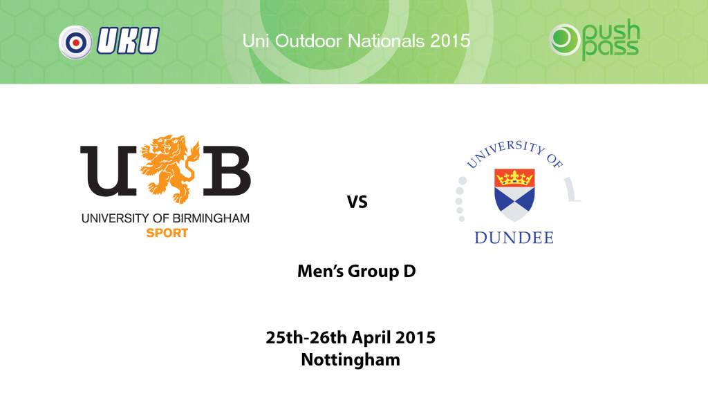 UOWON 2015: OD - Birmingham v Dundee