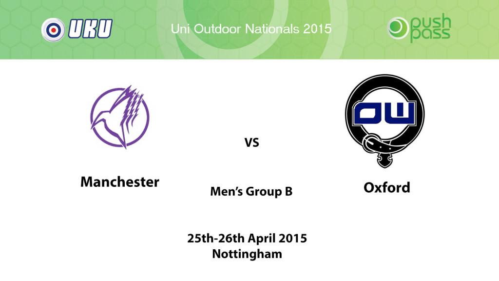 UOWON 2015: OB - Manchester v Oxford