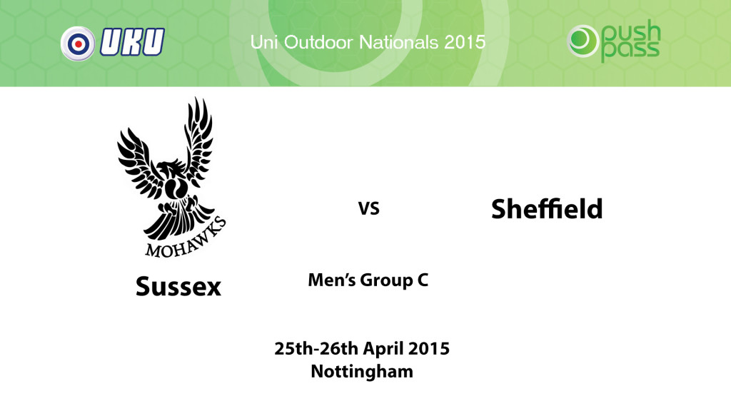 UOWON 2015: OC - Sussex v Sheffield