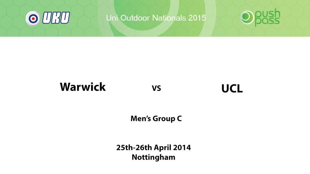 UOWON 2015: OC - Warwick v UCL