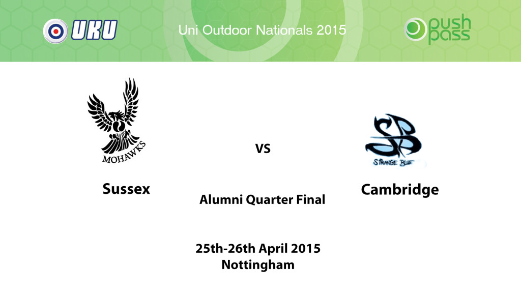 UOWON 2015: Alumni-QF - Sussex v Cambridge