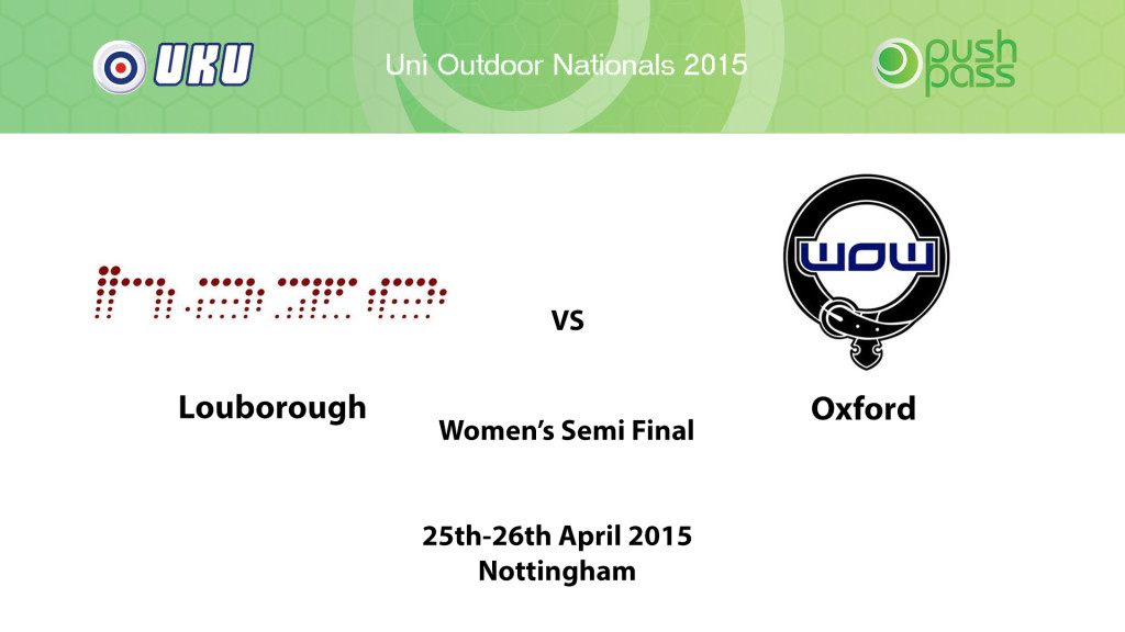 UOWON 2015: W-SF - Loughborough v Oxford